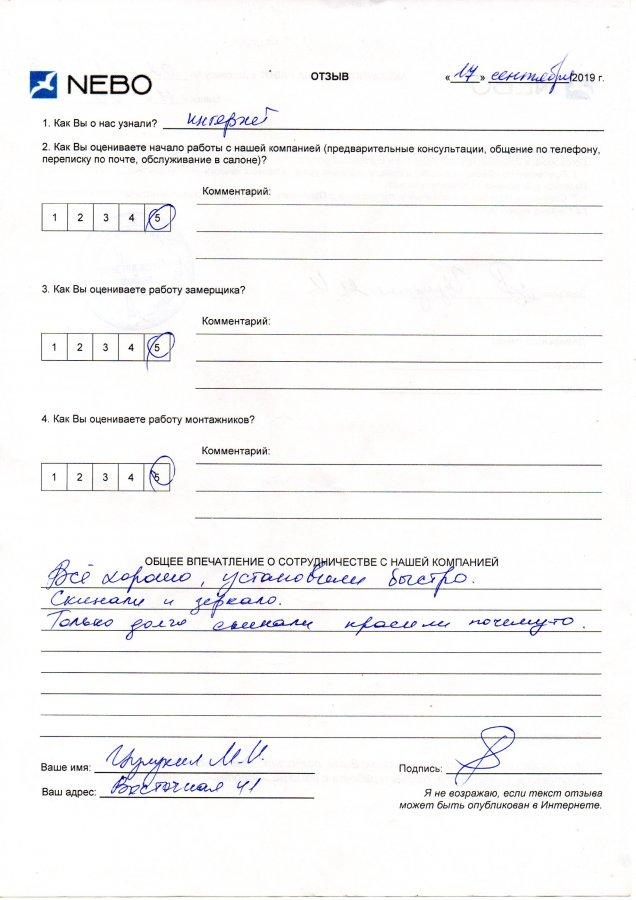 Цулукия М. И., Минск, Восточная, 41
