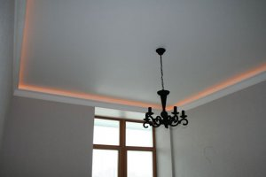 Натяжные потолки - фото - 11537