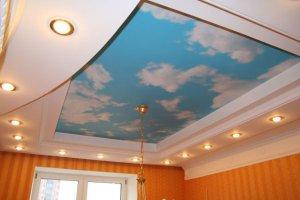 Китайские натяжные потолки - 11550
