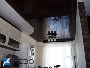 Натяжные потолки - фото - 11628