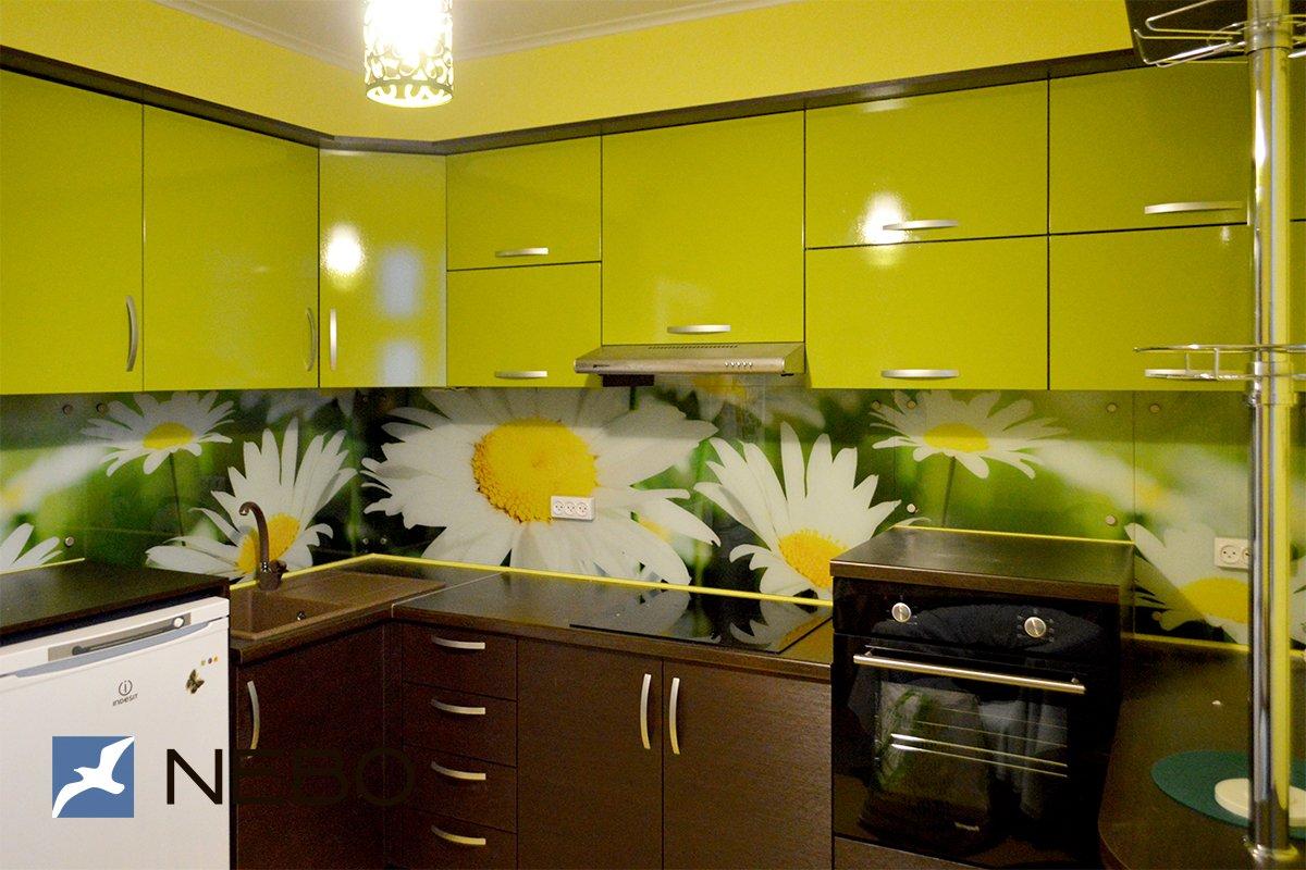 кухня желтая с подсолнухами фото некоторых