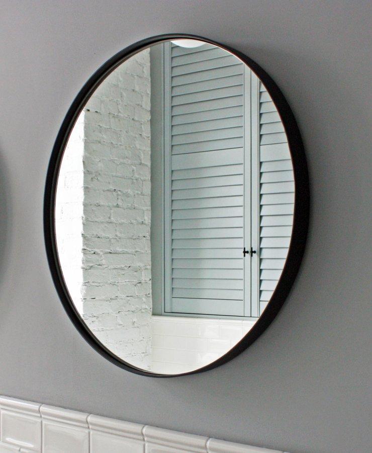 Зеркало D600 в металлической раме