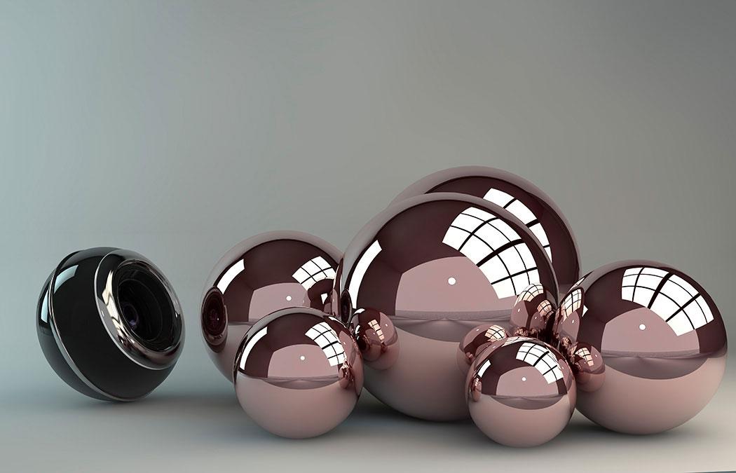 Хромированые шары  № 3336035 загрузить