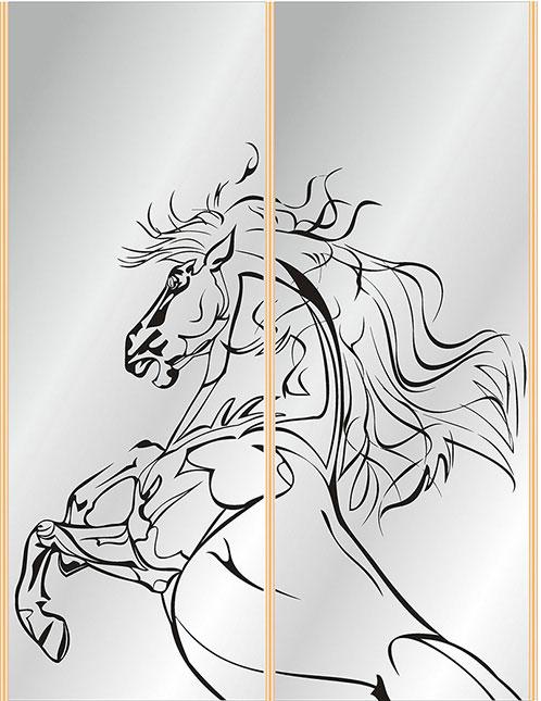 лошади на зеркале картинки рождением первых соболят