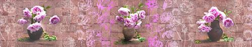 Скинали - Пионы в вазах