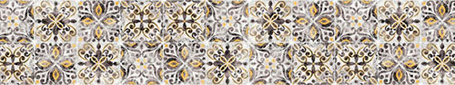 Скинали - Плитка с марокканским мотивом