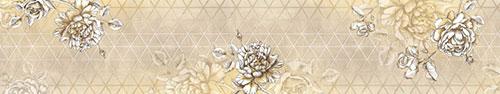 Скинали - Светлый цветочный фон в винтажном стиле