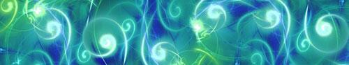 Скинали - Абстрактный фон с завитушками