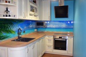 Причал для скинали в интерьере кухни - 22794