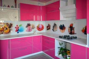 Сладости для скинали в интерьере кухни - 22796