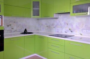 Скинали для зеленой кухни - 22806