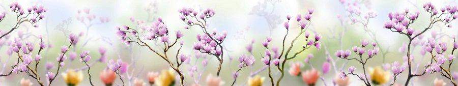 Скинали - Веточки цветущей магнолии