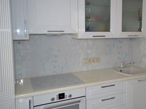 Узор для скинали в интерьере кухни - 22825