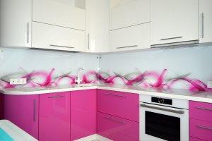 Дым для скинали в интерьере кухни - 22828
