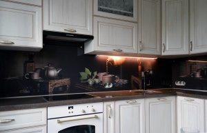 Чай для скинали в интерьере кухни - 22836