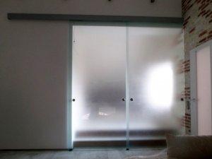 Стеклянные двери - фото - 22938