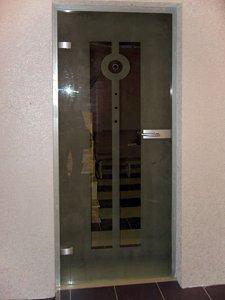 Стеклянные двери - фото - 22944