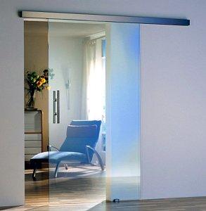 Стеклянные двери - фото - 22949