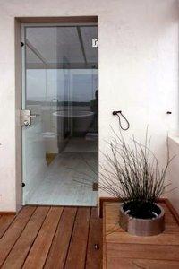 Стеклянные двери - фото - 22954