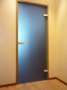 Стеклянные двери - фото - 22957