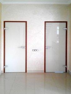 Стеклянные двери - фото - 22958