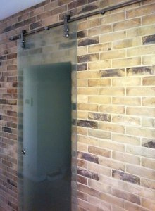 Стеклянные двери - фото - 22961