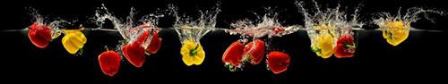 Скинали - Сочные перцы, падающие в воду