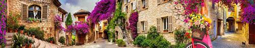 Скинали - Улочки с пурпурными цветами