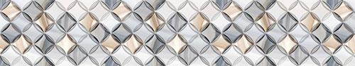 Скинали - Объемный геометрический фон