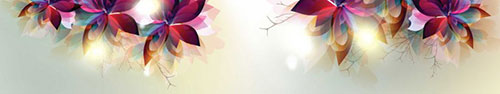 Скинали - Цветочный вектор