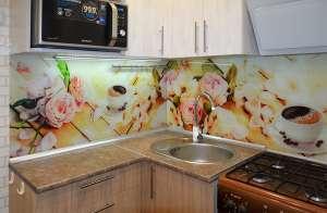 Кофе для скинали в интерьере кухни - 29082