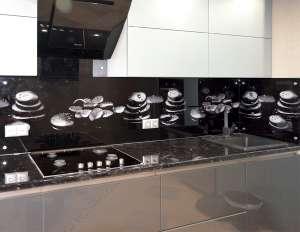 Капли для скинали в интерьере кухни - 29084