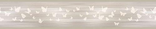 Скинали - Бабочки на светлом фоне