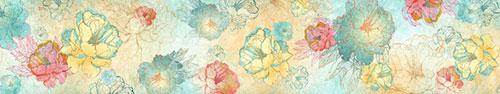 Скинали - Векторные пионы разных цветов