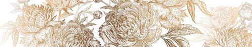 Скинали - Потрясающие пионы на белом фоне