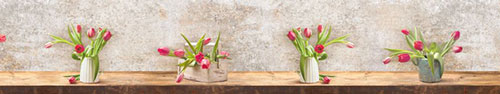 Скинали - Нежные тюльпаны на столе