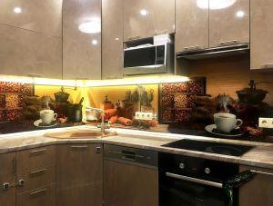 Кофе для скинали в интерьере кухни - 29498
