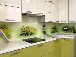 Скинали для зеленой кухни - 29499