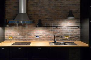 Скинали для кухни, прозрачное осветленное стекло, 2700х600 мм