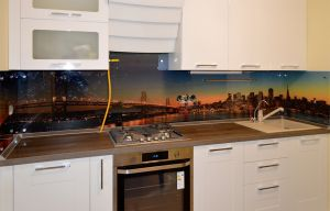 Закаты и рассветы для скинали в интерьере кухни - 29906
