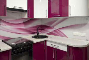 Скинали для розовой кухни - 30654