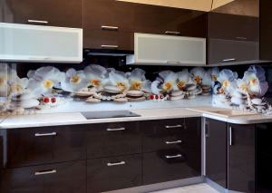 Скинали для коричневой кухни - 30662