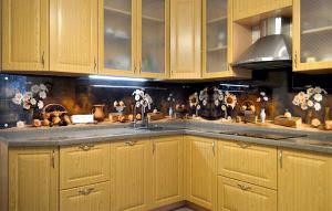 Фрукты, ягоды для скинали в интерьере кухни - 30884