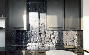Текстуры для скинали в интерьере кухни - 31069