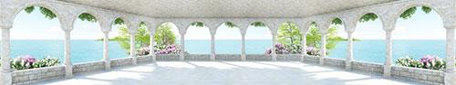 Скинали - Панорама на балконе