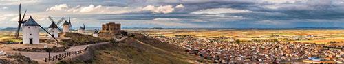 Скинали - Ветряные мельницы, Консуэгра в Испании