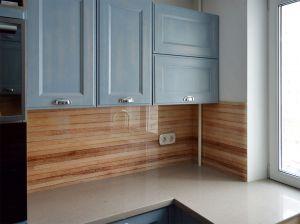 Скинали для синей кухни - 31235