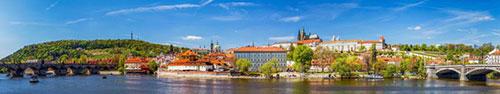 Скинали - Старый город солнечным днем, Прага