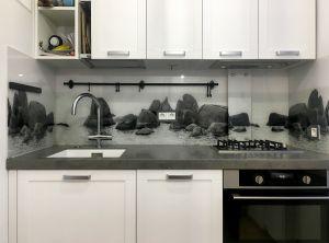 Озеро для скинали в интерьере кухни - 31266