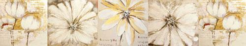 Скинали - Цветы маслом, коллаж